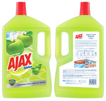 Harga Ajax Fabuloso Apple Floor Cleaner 3L