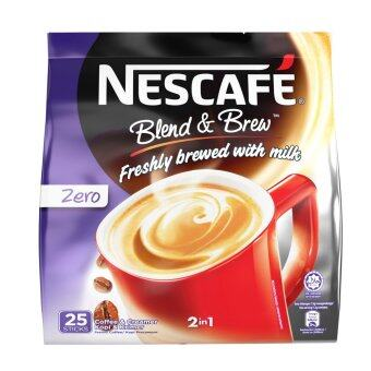 Harga NESCAFE Blend and Brew Zero 25 Sticks