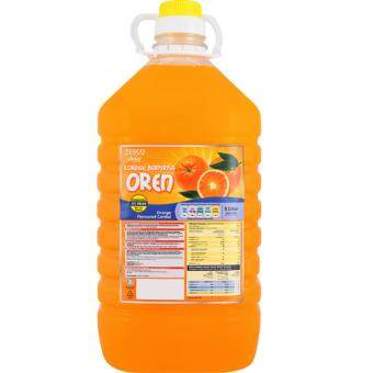 Harga TESCO CHOICE CORDIAL ORANGE 5L