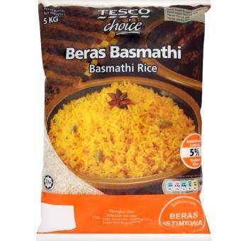 Harga TESCO CHOICE BASMATHI RICE 5KG