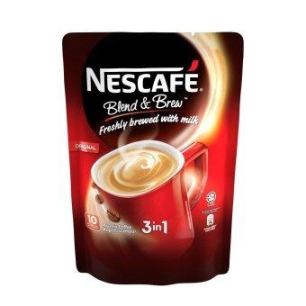 Harga NESCAFE Blend and Brew Original 10 Sticks