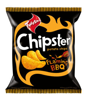 Harga Twist Chipster Flaming Bbq 1X10X60G