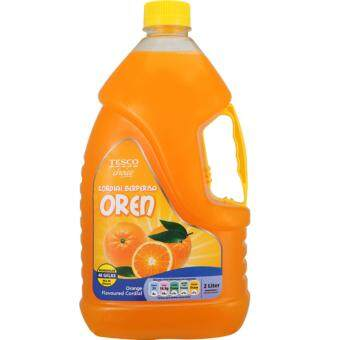 Harga TESCO CHOICE ORANGE CORDIAL 2L