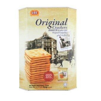 Harga Lee Original Crackers 600g