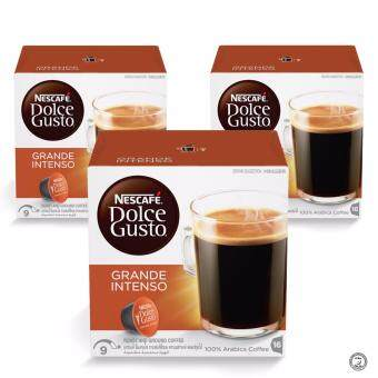 Harga NESCAFE Dolce Gusto Grande Intenso Coffee Bundle of 3 Boxes