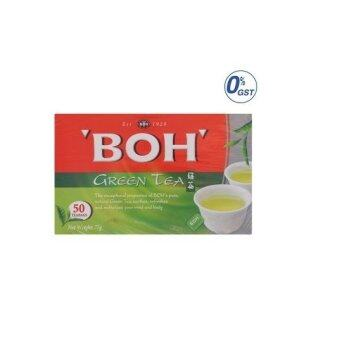 Harga BOH Green Tea Bags 50pcs 75g