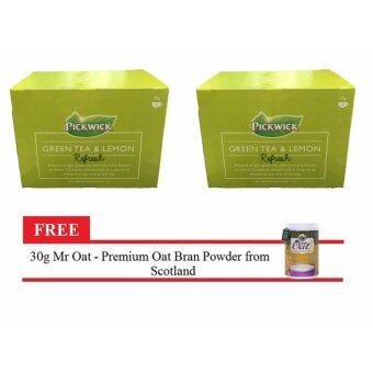 Harga Pickwick Green Tea & Lemon Envelop Tea Bag
