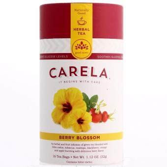 Harga CARELA Berry Blossom Herbal Tea with Bitter Melon 32g