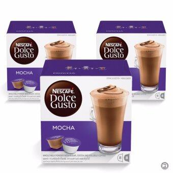Harga NESCAFE Dolce Gusto Mocha Chocolate Bundle of 3 Boxes