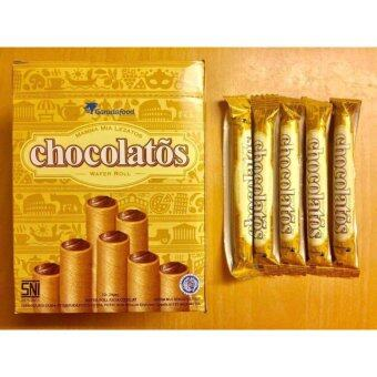 Harga Gery Chocolatos Chocolate Wafer Roll 9g x 24's x 2 box