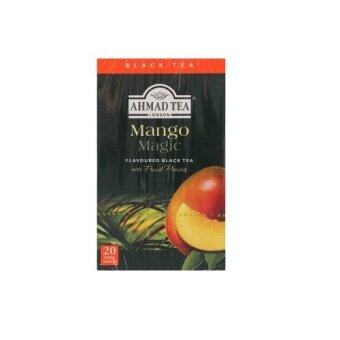 Harga Ahmad Tea London Mango Magic Flavoured Black Tea with Fruit Pieces Foil Tea Bags 20pcs 40g