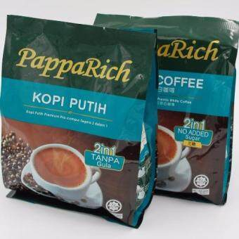 Harga Papparich 2in1 No Sugar White Coffee (Twin Pack Value Buy)