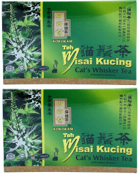 Harga Cat's Whisker Tea / Teh Misai Kucing (Orthosiphon aristatus) 猫须茶 25 Teabags x 2s