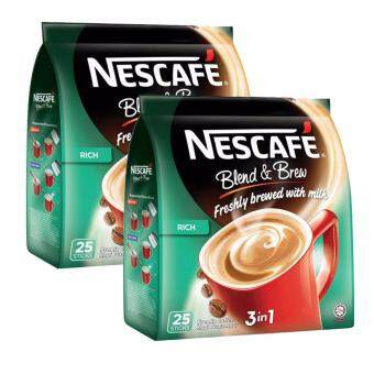 Harga Nescafe Blend & Brew Rich 25 sticks, 2 Packs (SPECIAL OFFER)
