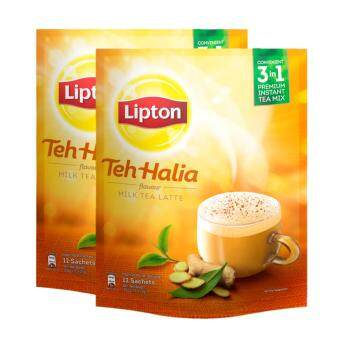 Harga Lipton Milk Tea 3 in 1 Teh Halia 12 sticks x 2 packs