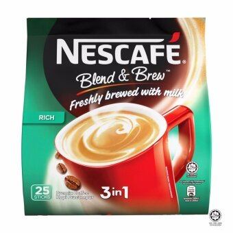 Harga NESCAFE Blend and Brew Rich 25 Sticks
