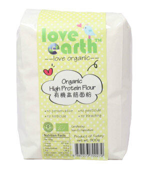 Harga Love Earth Organic High Protein Flour (900g)