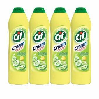 Harga Cif Cleaning Cream Lemon 500 ml (BUNDLE OF 4)