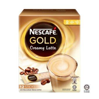 Harga Nescafe Gold Creamy Latte 12 Sticks Premium Coffee