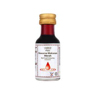 Harga TESCO CHOICE COLOURING RED 25ML