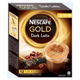 Harga NESCAFE GOLD DARK LATTE 12X34G