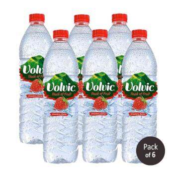 Harga Volvic Touch of Fruit Strawberry 6 x 1500ml (1 Multipack)