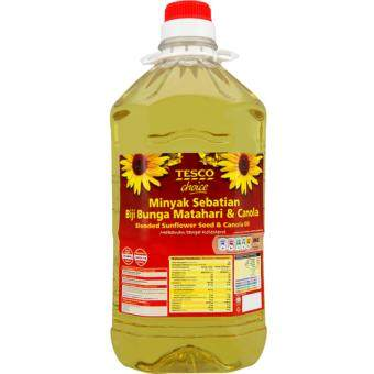 Harga TESCO CHOICE BLENDED SUNFLOWER+CANOLA3KG