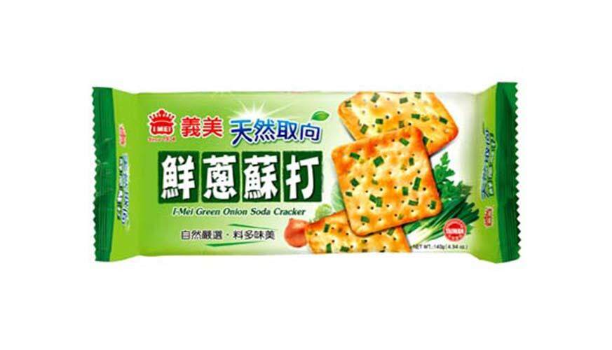 IMEI Green Onion Soda Cracker 140g