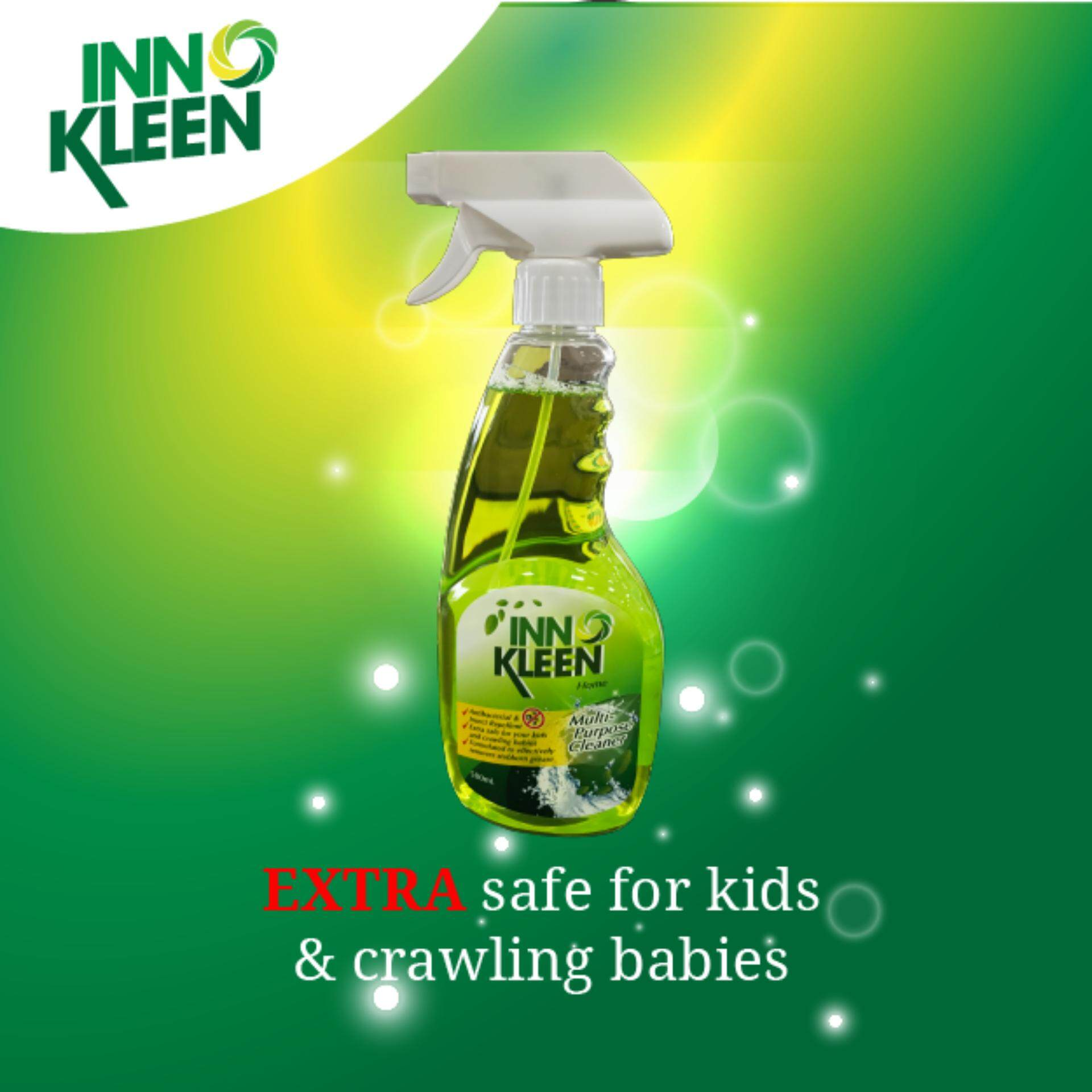 [VALUE PACK] Set of 2 INNOKLEEN HOME Multi Purpose Cleaner -Antibacterial & Insect Repellent, Safe for Kids & Babies 500ml