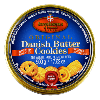 Harga Jacobsens - Original Danish Butter Cookies (500g) - Denmark