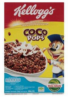 Kellogg's Coco Pops Breakfast Cereal 400g