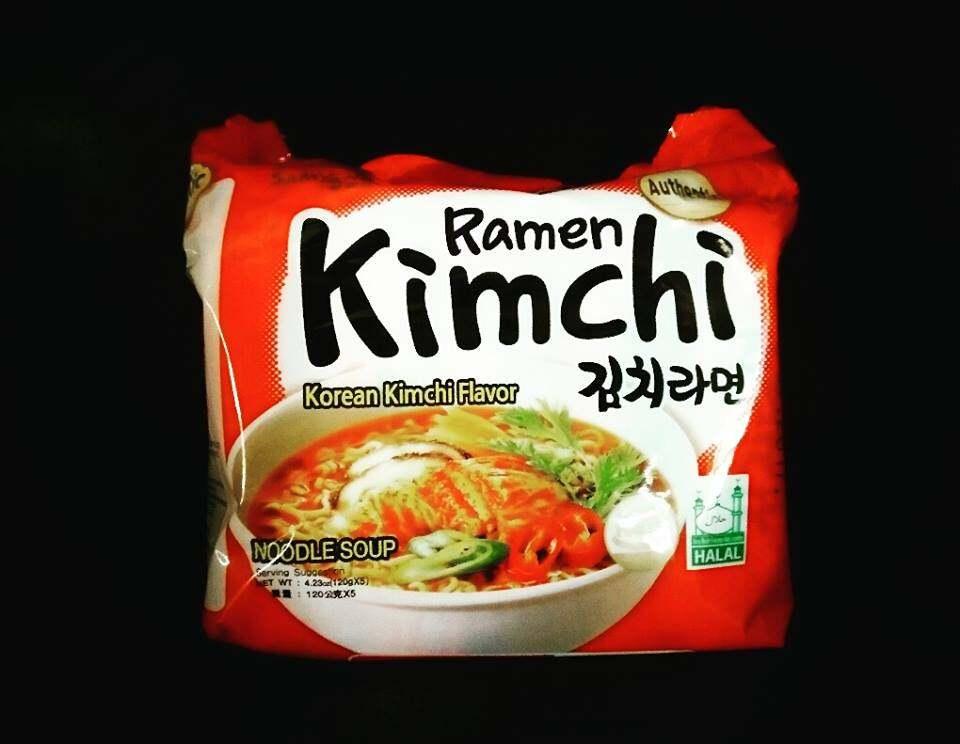 KOREA SAMYANG KIMCHI RAMEN HALAL 600G (1BUNDLE=5PACK)