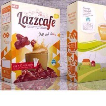 Harga Lazz Lazzcafe Premix coffee with goat milk & dates 25g X 20