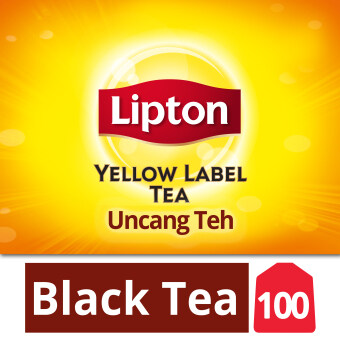 Harga Lipton Yellow Label Black Tea 100 Tea Bag