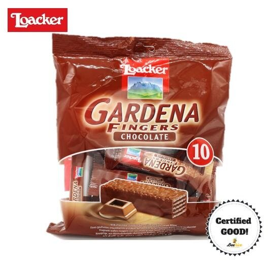 Loacker Gardena Fingers Chocolate 125g