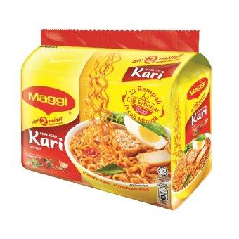 Harga MAGGI 2-MINN Curry 5 Packs, 79g Each (SPECIAL OFFER)