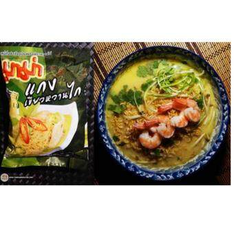 Harga Mama Thailand Green Curry Chicken Instant Noodles 15 Pcks ( NotHalal )