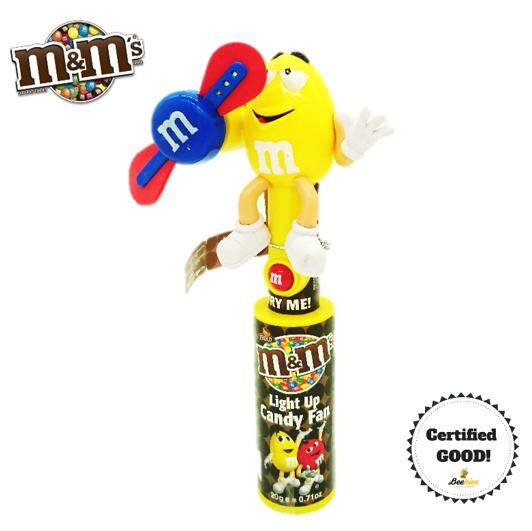 "M&M""s Light Up Candy Fan (Yellow)"