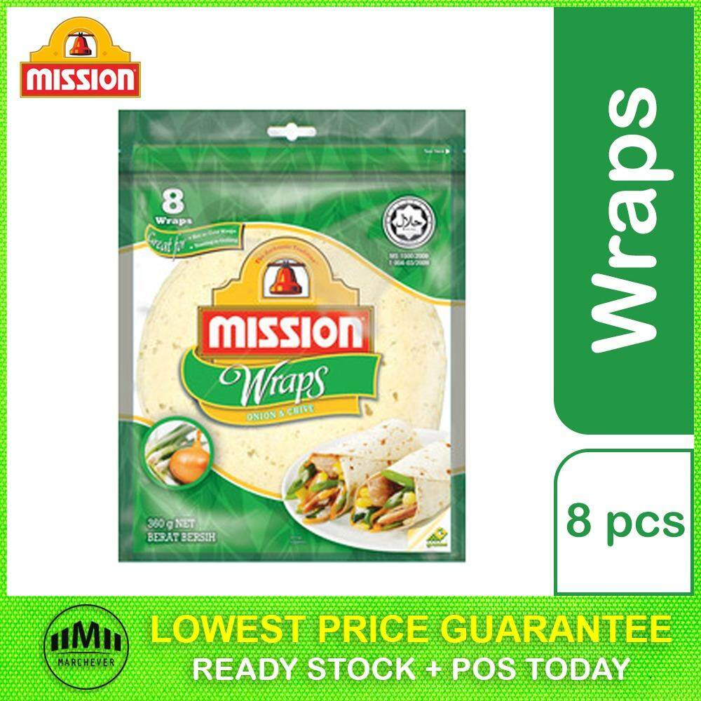 Mission Onion & Chive Wrap (8 pieces)