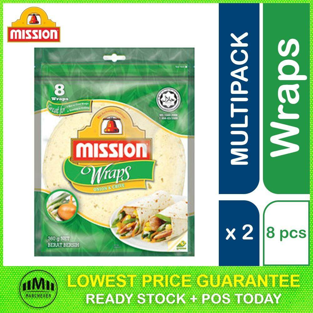 Mission Onion and Chive Wrap, 8 pieces ( 2 units )
