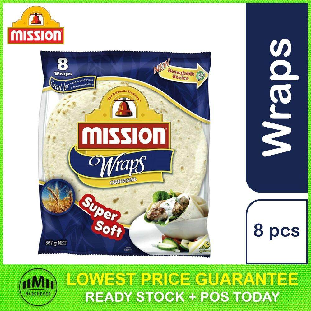Mission Original Wraps (8 pieces)