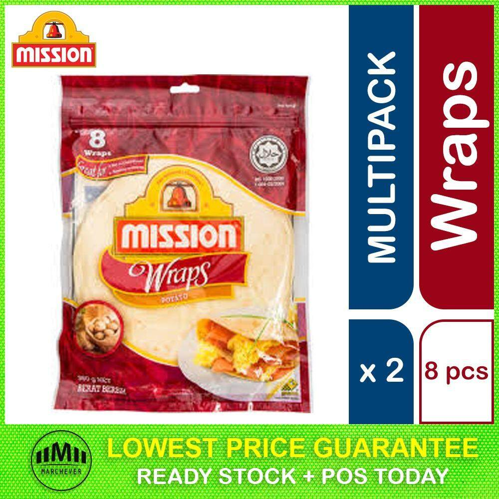 Mission Potato Wrap, 8 pieces ( 2 units )