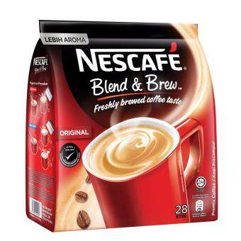 Nescafe Blend And Brew Original 28 Sticks 20g Each