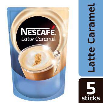 Harga NESCAFE Latte Caramel 5 Sticks, 25g Each