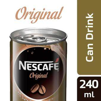 Harga NESCAFE Original 6 Cans, 240ml Per Can