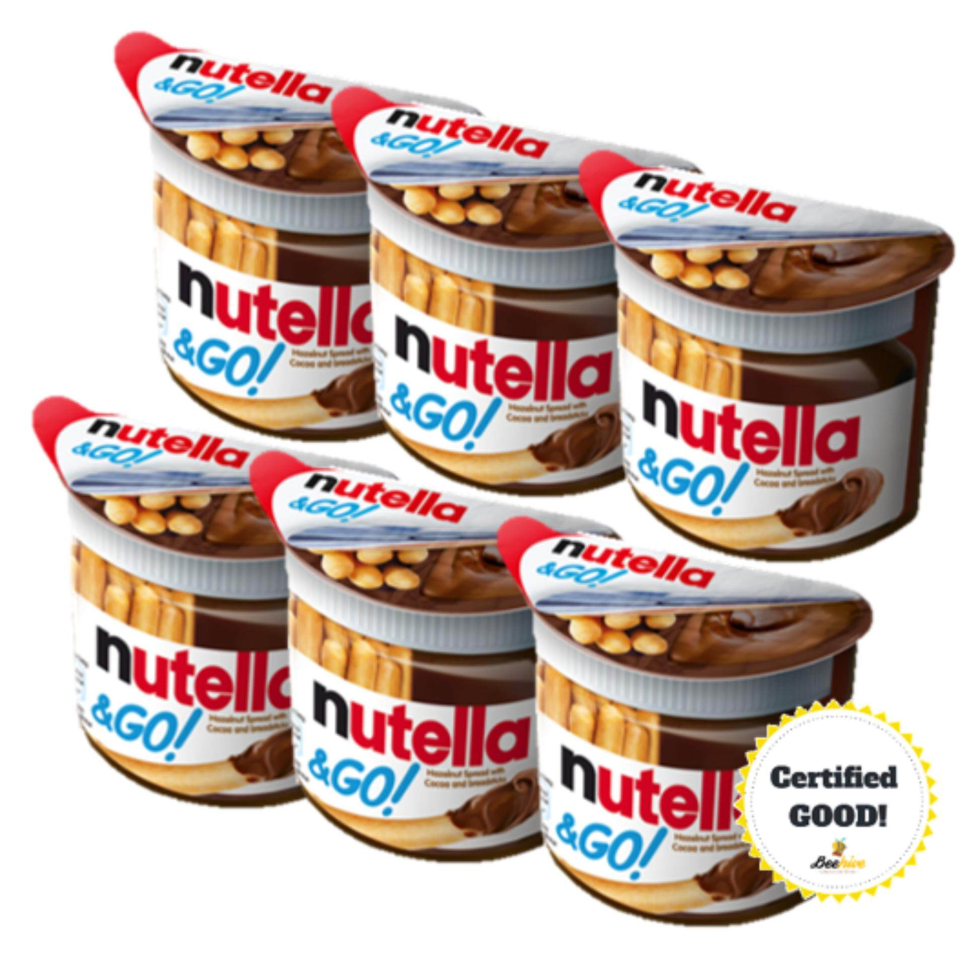 Nutella & GO Snack 6x52g [Pack of 6]