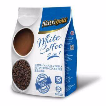 Harga Nutrigold 2 in 1 No Sugar Added White Coffee
