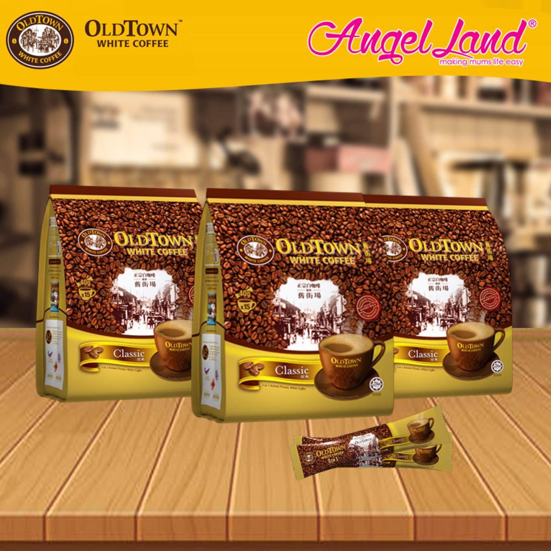 Coffee By Old Town Reviews Ratings And Best Price In Kl Selangor White 3 1 Classic Kopi Klasik Oldtown Instant Premix X 3packs