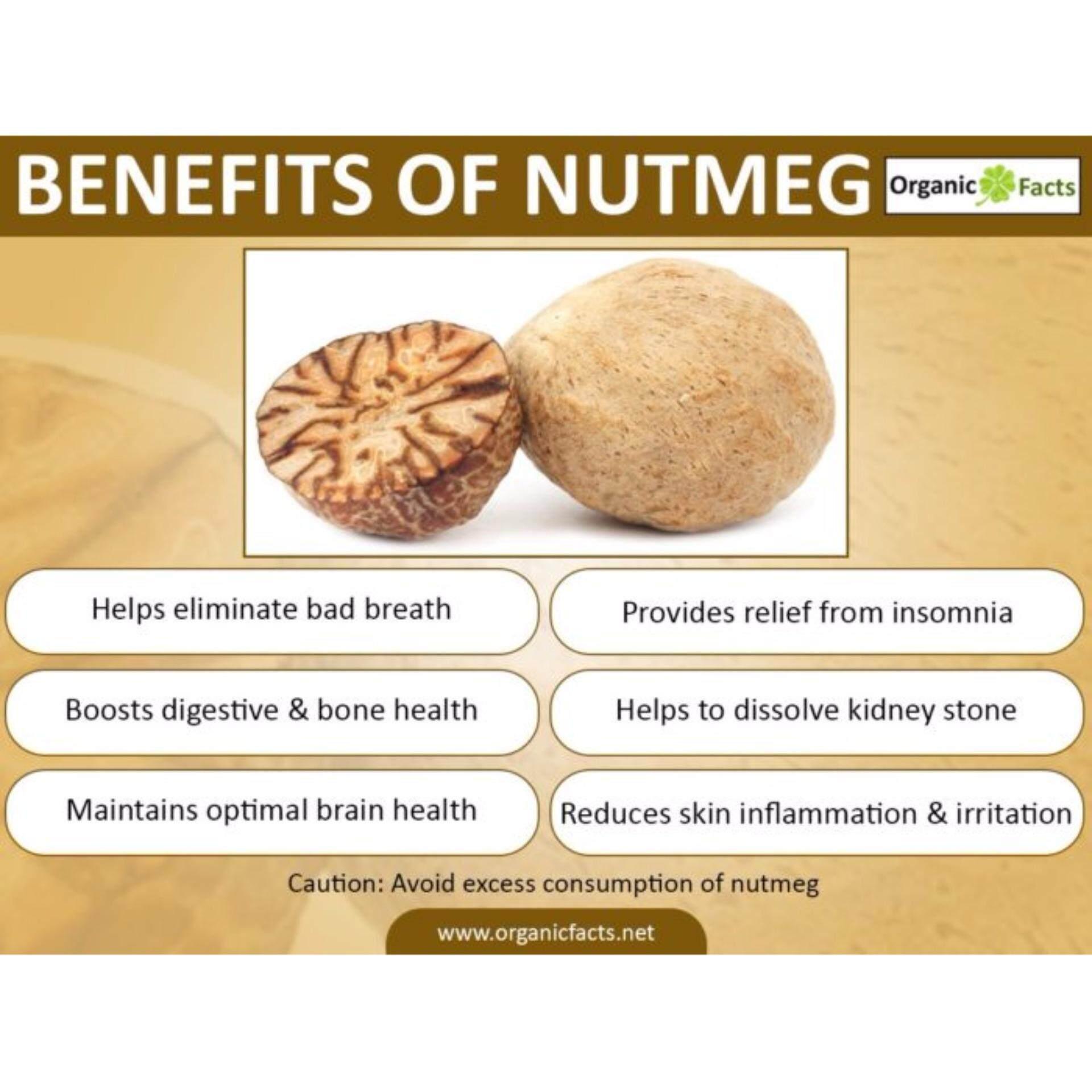 OPIKA Natural Nutmeg Powder 50g (Twin Pack)