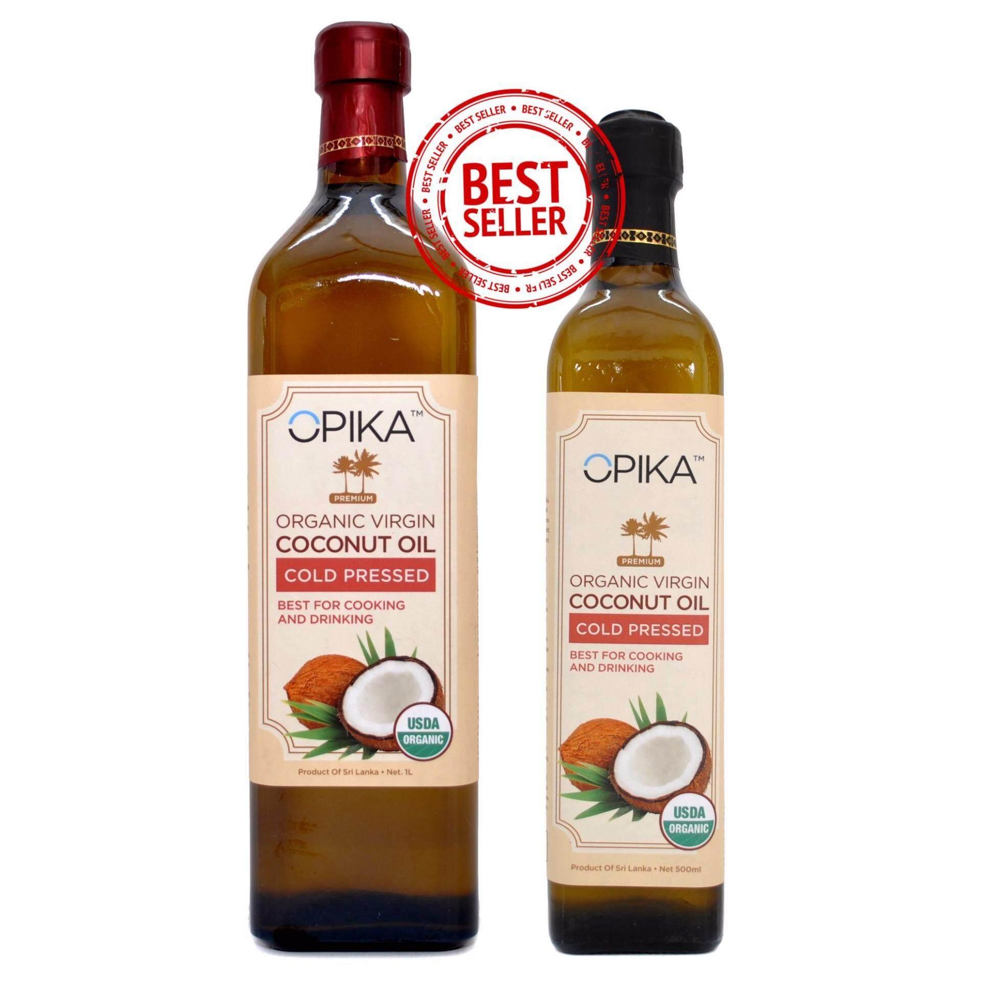 OPIKA Premium Organic Virgin Coconut Oil 1500ml